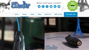 Artikelgebend ist der neue Freihand-3Drucker.