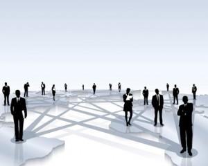 internationale Kommunikation innerhalb eines Unternehmens