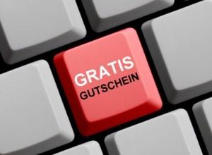 Gratis Gutschein online