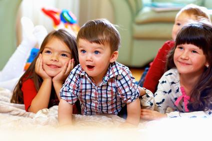 Kinder gucken fern